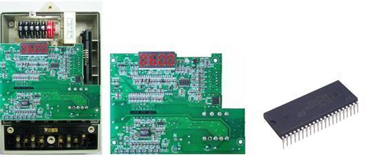 单相预付费CPU卡电能表电子模块采用专用集成电路进行电能计量及智能控制,选用优质元器件及先进的SMT贴装工艺,确保产品的高可靠性。一表一卡,采用CPU智能卡和嵌入式ESAM安全模块作为数据信息存储和传递的介质,具有极高的安全性和抗攻击性; 采用高亮度,长寿命LED数码管显示电能表数据。