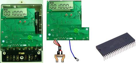 单相电子式逻辑加密ic卡预付费电能表电子模块采用专用集成电路