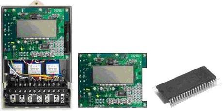 电能表电子模块采用专用集成电路进行电能计量及智能